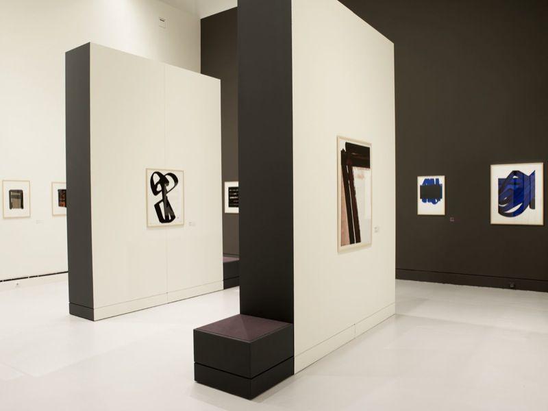 Pierre Soulages Courtesy Musee D Art Moderne Et Contemporain De La Ville De Strasbourg France Art Museum Strasbourg France Contemporary Art