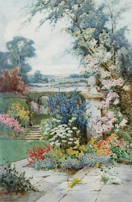 Theresa Sylvester Stannard: A Garden in Bloom