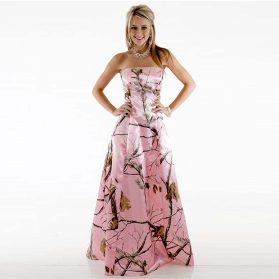 2d9fb414e0e90 Camouflage Wedding Dresses Plus Size