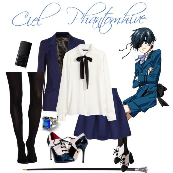 ciel phantomhive inspired outfit by kawaiikitty4ever on