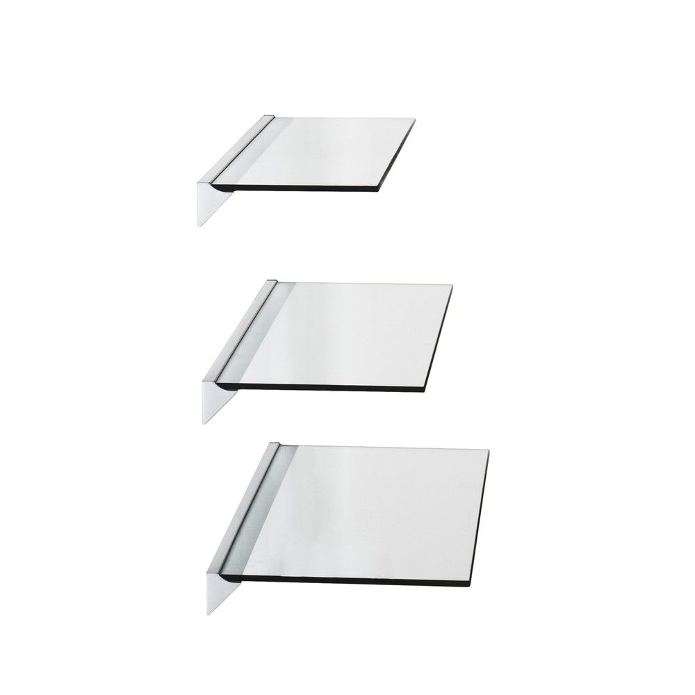 Swell Clear Glass Floating Shelf 24 Southern Enterprises Download Free Architecture Designs Embacsunscenecom