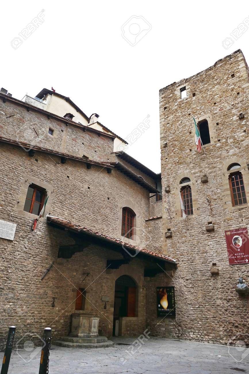 Museo Della Casa Di Dante Alighieri Firenze Italia Firenze Dante Alighieri Museo