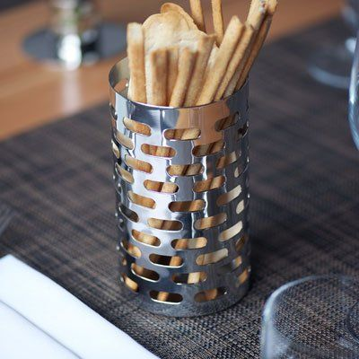 Mod18 Steelworks SM70 Bread Stick Holder Brushed Stainless ...