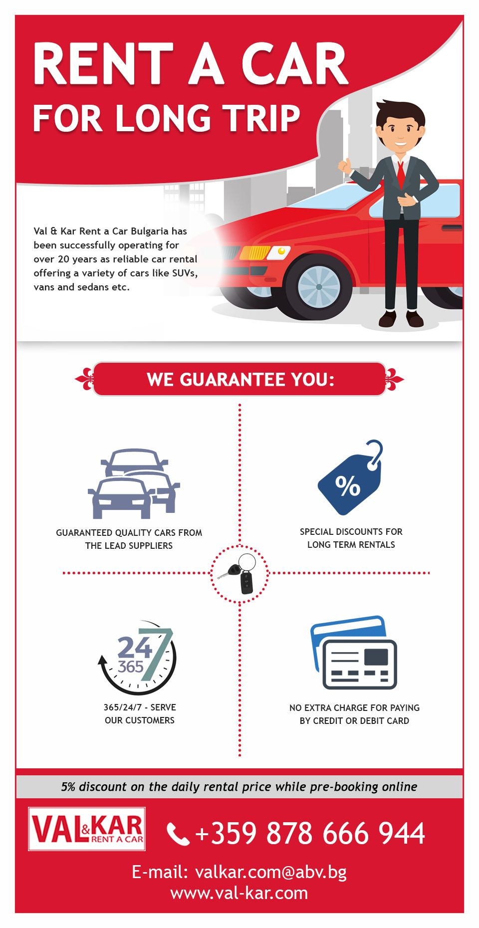 Val Kar Rentacar Bulgaria Has Been Successfully Operating For Over 20 Years As Reliable Car Rental Offer Car Rental Rent A Car Airport Car Rental