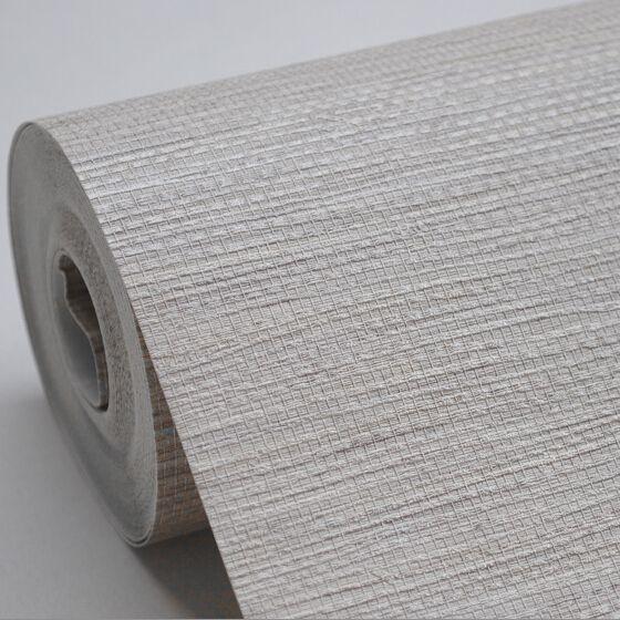 Phillip Jeffries Simply Seamless Wallpaper: Faux Woven Textured Natural Grasscloth Wallpaper Cream