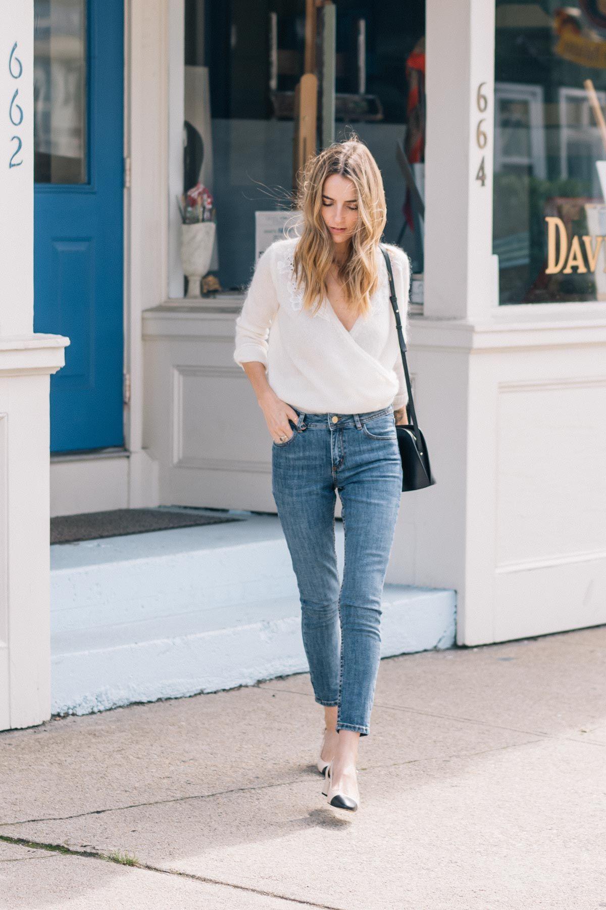 Sezane Denim Review + Two Outfit Ideas | Jess Ann Kirby