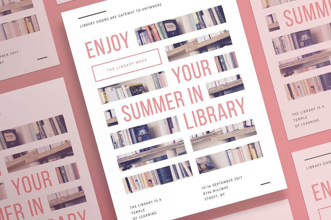 Posters   Summer In Library