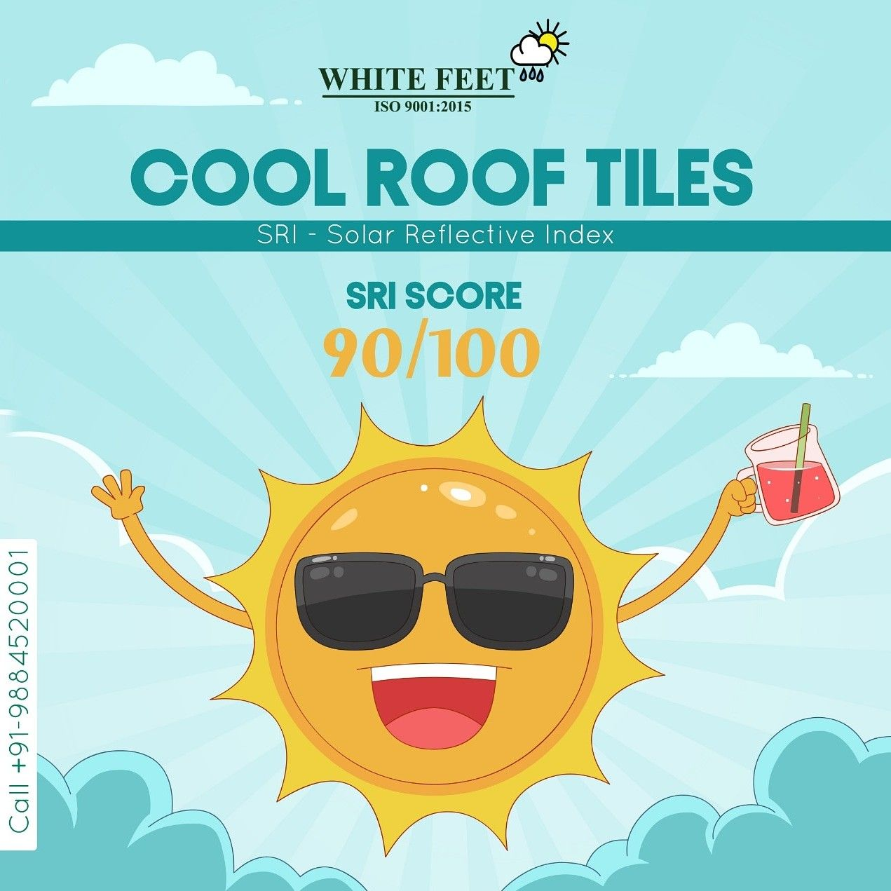 Sri Roof Tiles Cool Roof Roof Tiles Roof