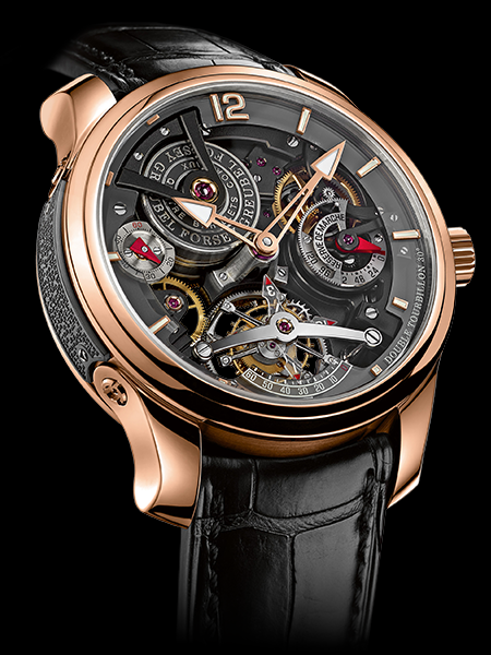 Greubel Forsey Double Tourbillion 30' Technique Bi-Color 22 piece edition 18K red gold Hand wound