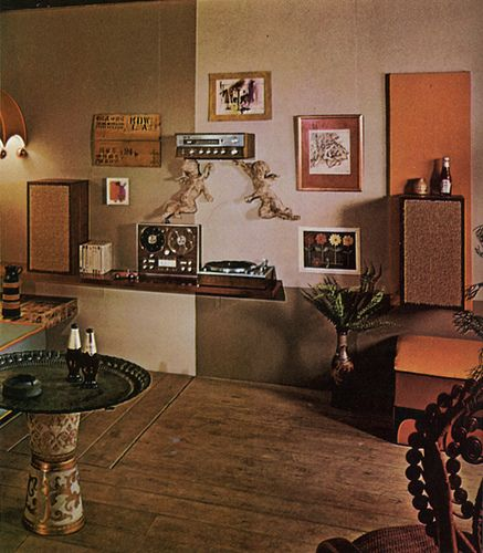 Awesome 70s Living Room | Stereo Wall, 70s Living Room | Flickr   Photo Sharing!