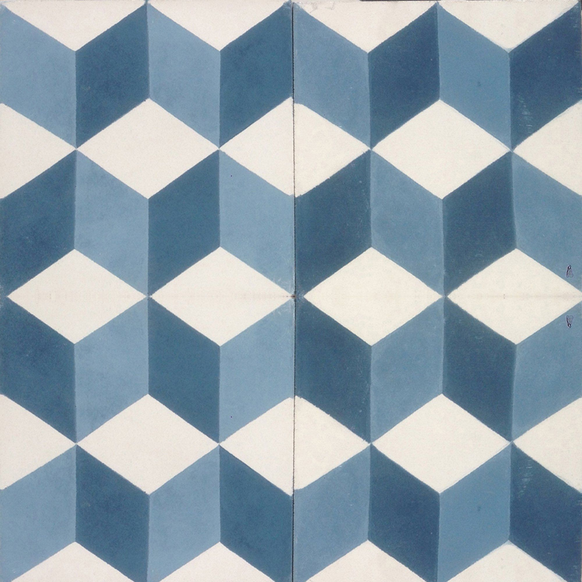 This new shade of geometric tile from our encaustic cement tile ...