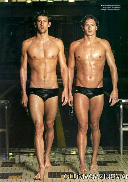 Michael Phelps And Ryan Lochte Amazing Anatomy Pinterest