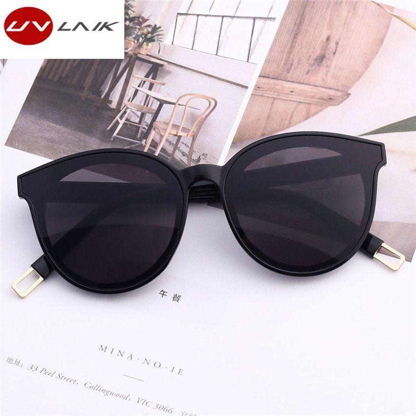 7507f184f5e Women Cat Eye Sunglasses Black Sun Glasses Eyewear Oversized Plastic Goggles   fashion  clothing  shoes  accessories  womensaccessories ...