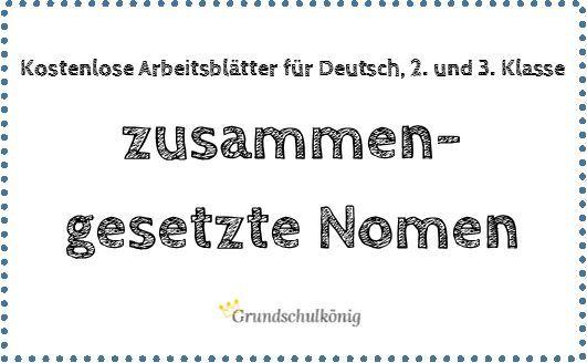 kostenlose bungen zum thema zusammengesetzte nomen f r deutsch in der 2 und 3 klasse an der. Black Bedroom Furniture Sets. Home Design Ideas