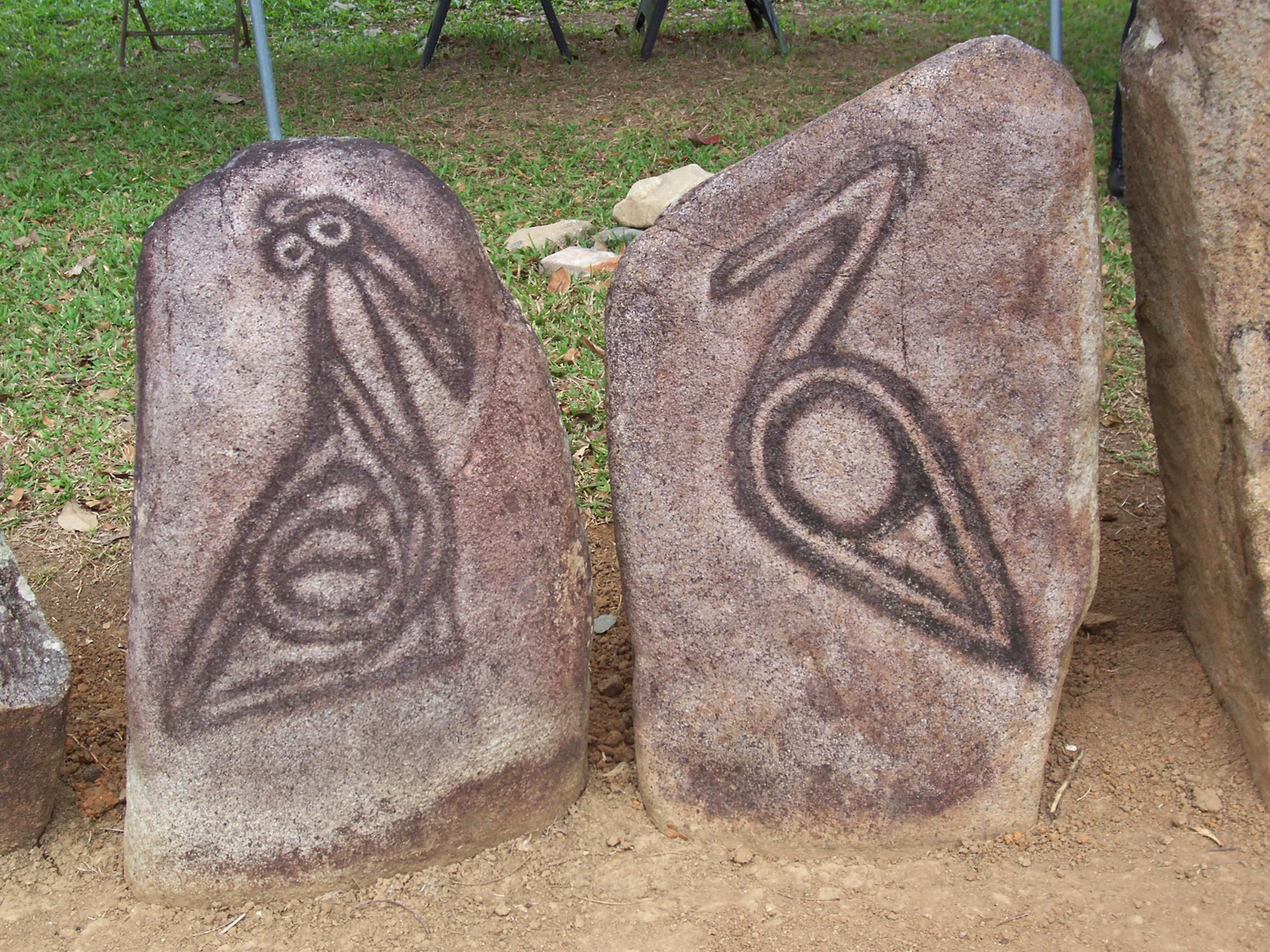 New Moon March 4, 2011 Indian symbols, Taino symbols