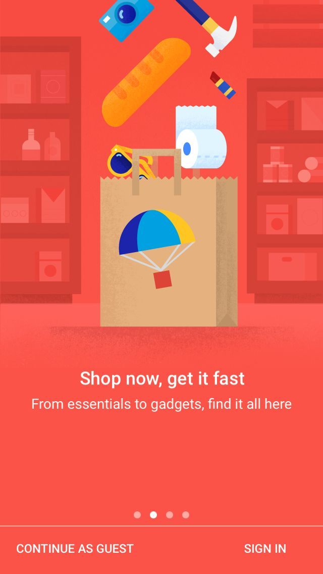 Google Shopping Express App