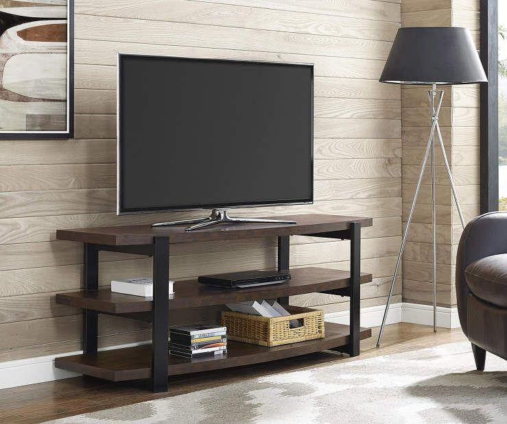Ameriwood Espresso Brown Tv Stand Big Lots Entertainment Center Altra Furniture Tv Console Diy