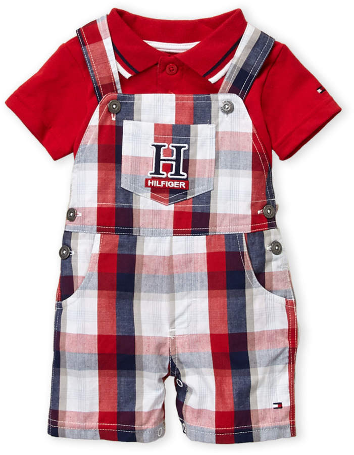 Tommy Hilfiger Unisex Baby Printed Coverall L//S Body