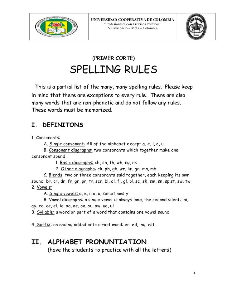 phonetic/spelling rules | Speech Therapy | Spelling rules, Writing