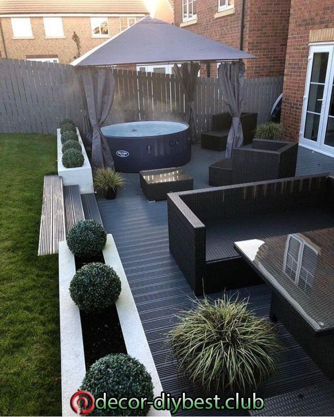 Photo of 20+ minimalistische Garten-Design-Ideen für kleinen Garten | Minimalist garden,…