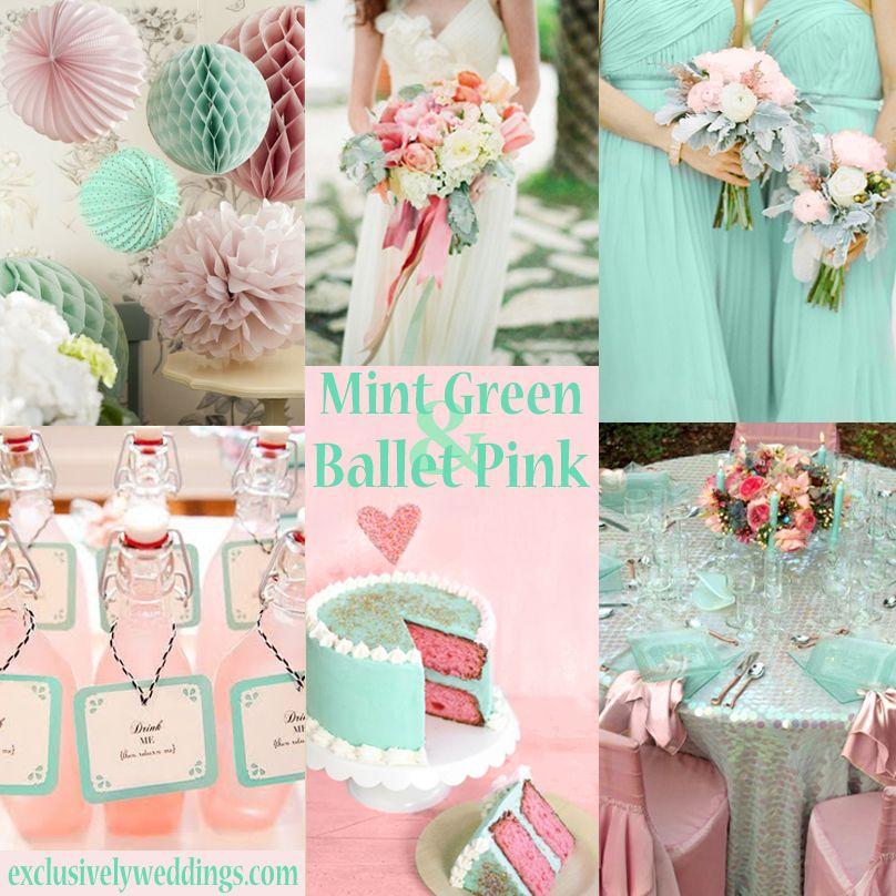 Pastel Wedding Colors - Seven Dreamy Combinations | Mint green ...