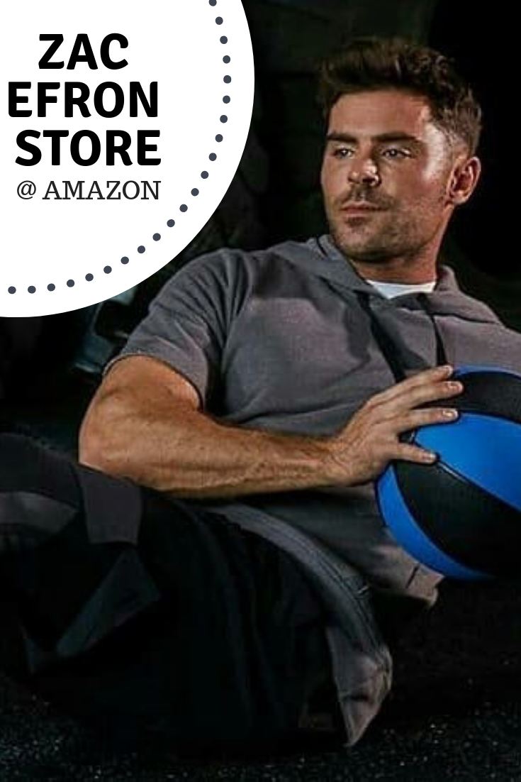 ZAC EFRON STORE AMAZON Get fitness tips from the man