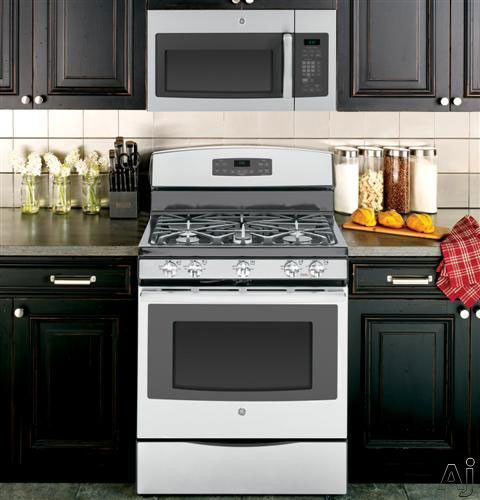 Gas Range With Microwave Above Image Disclaimer