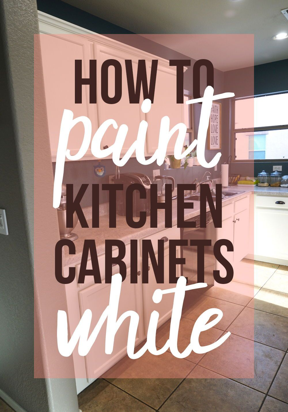 How to paint kitchen cabinets white painting wood cabinets