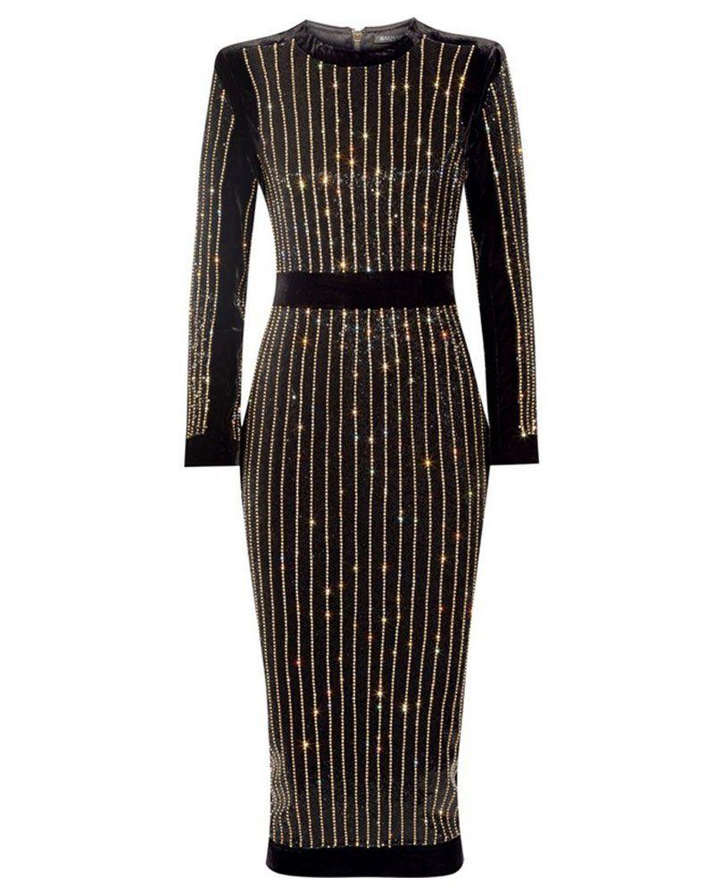 Whoinshop womenus high neck long sleeves mesh and bandage elegant