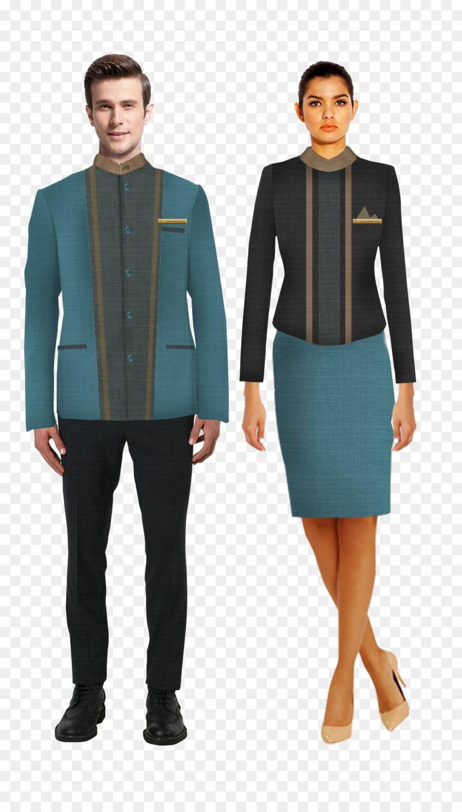 Uniform front office housekeeping blazer receptionist for Spa uniform france