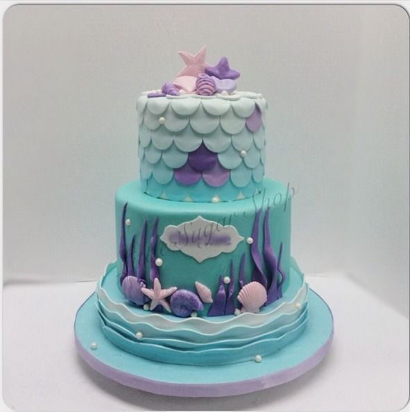 Baby Shower Under The Sea Cakes