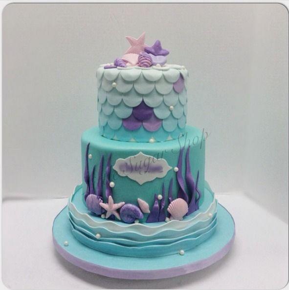 Mermaid Cake Beautiful Cakes Amp Cupcakes Mermaid