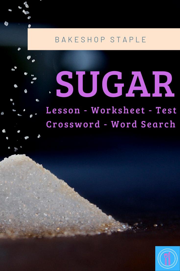 Sugar (family consumer science, FACS, FCS) High school