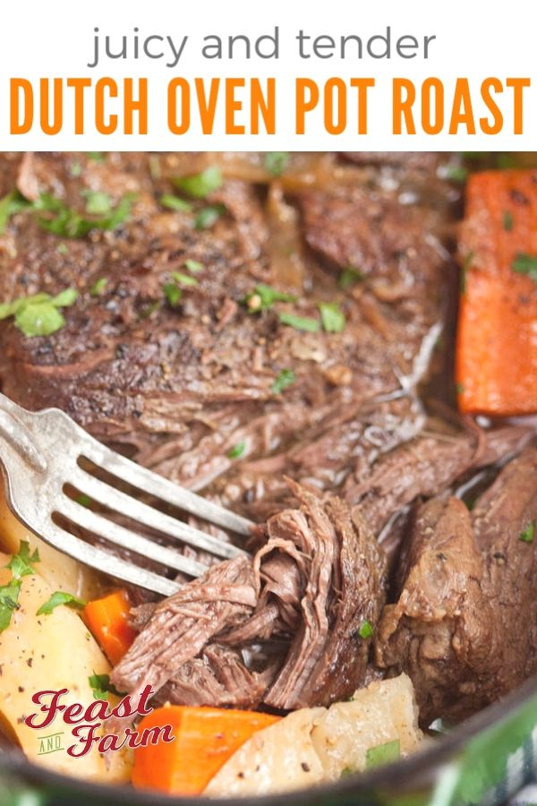 Dutch Oven Pot Roast With Carrots And Potatoes Recipe Dutch Oven Pot Roast Oven Pot Roast Roast Beef Recipes