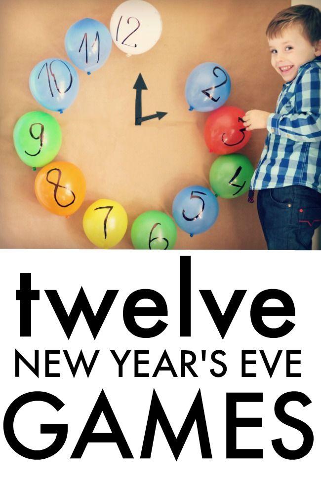 12 New Year S Eve Family Games Holiday Pinterest Navidad