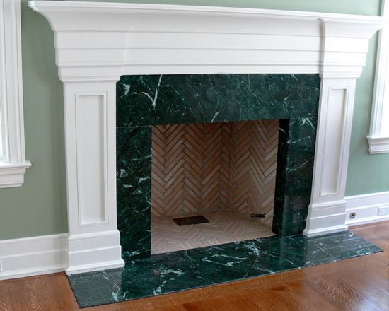 Fireplace Green Marble Fireplace Marble Fireplaces