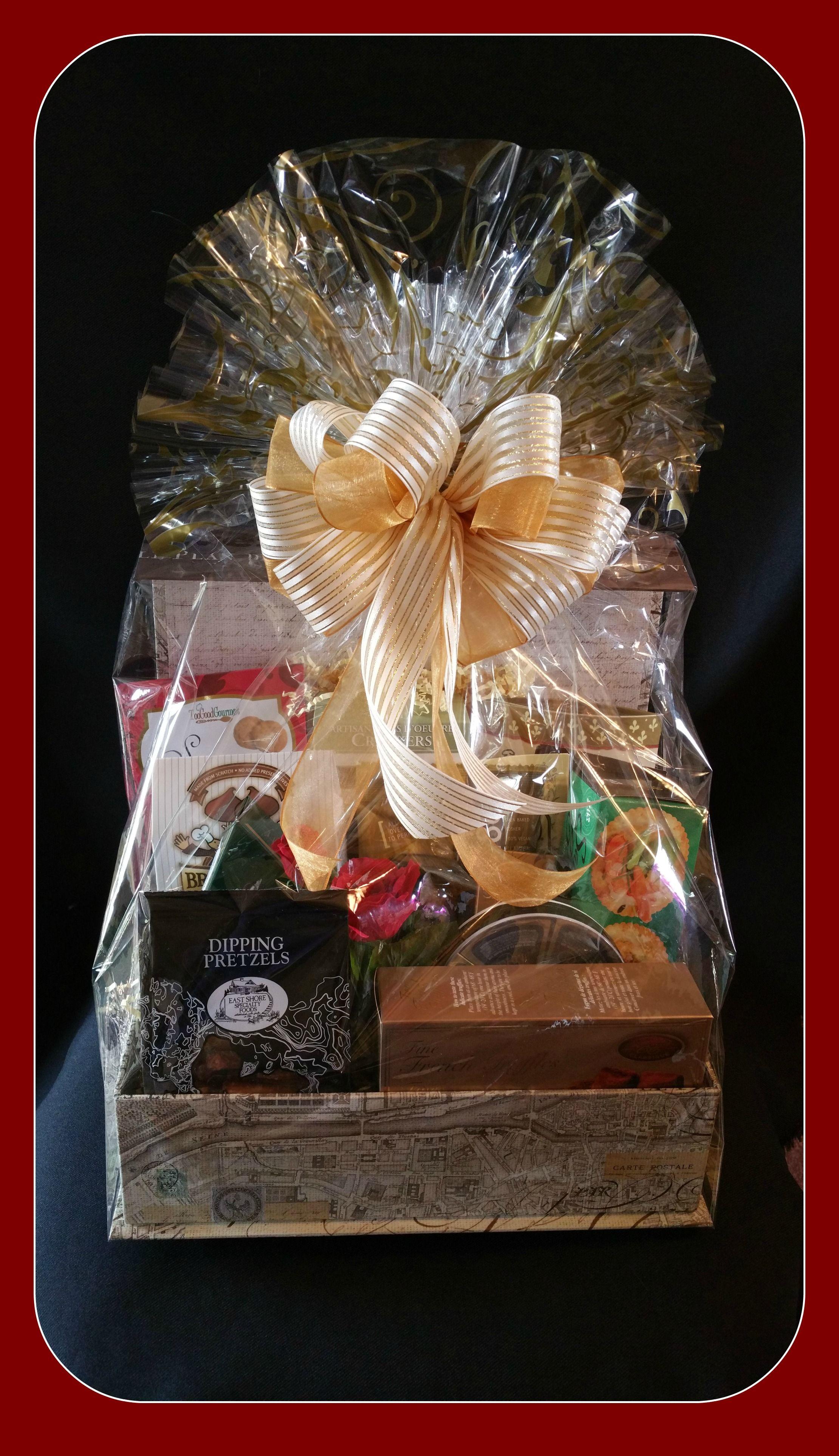 Corporate Keepsake Gift Box with various gourmet treats. & Corporate Keepsake Gift Box with various gourmet treats. | Gift ...