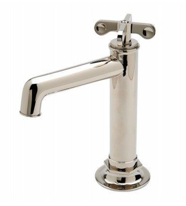 Waterworks Henry Bar Faucet In Burnished Nickel Bar Faucets Faucet Modern Bathroom Faucets