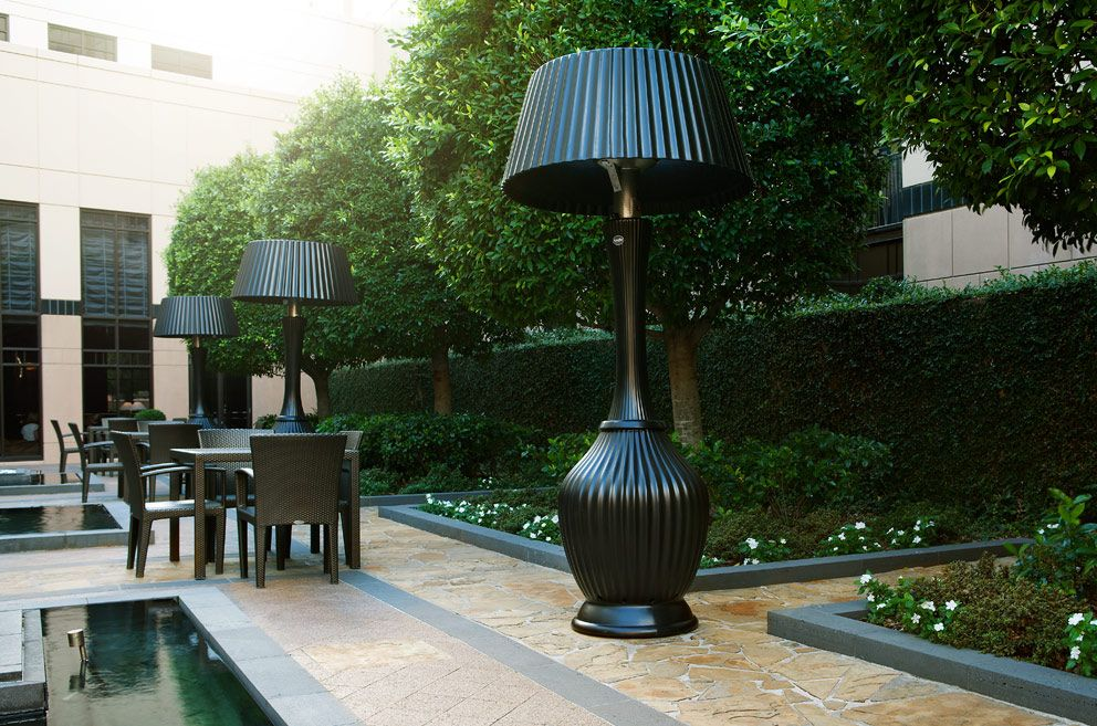 Allison Kindle Patio Heater Warmer L& Decorative & Allison Kindle Patio Heater Warmer Lamp Decorative   Small space ...