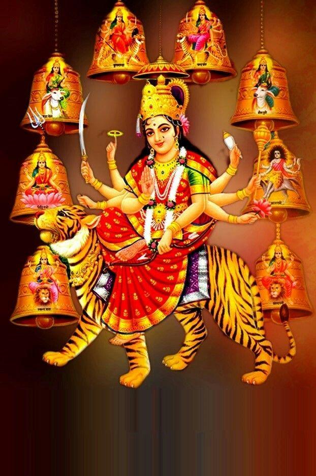 Pin by Kalpana Rathore on k   Durga maa, Live wallpapers ...