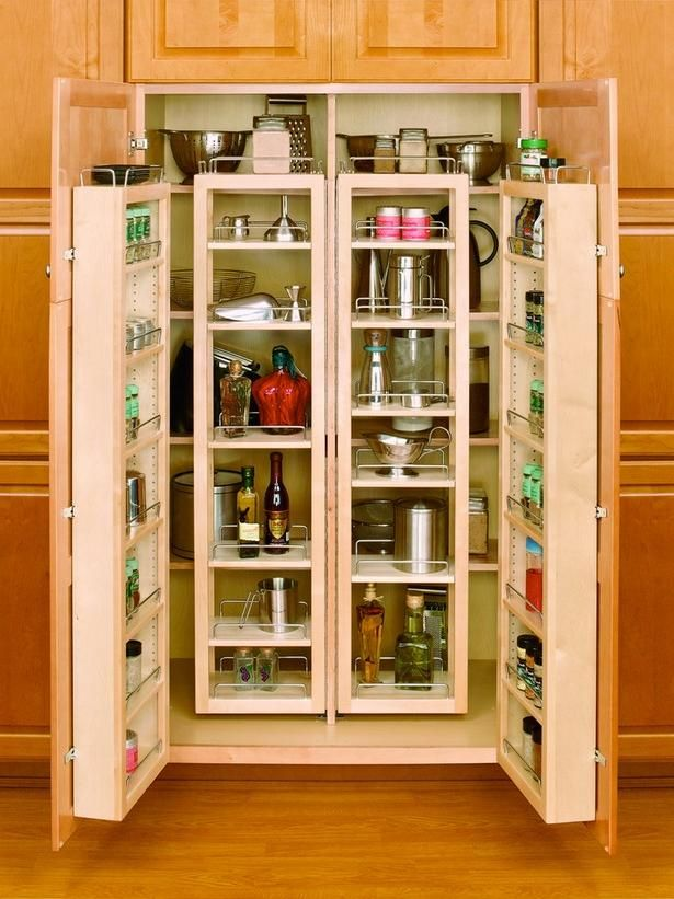 Beautiful And Space Saving Kitchen Pantry Ideas To Improve Your ...