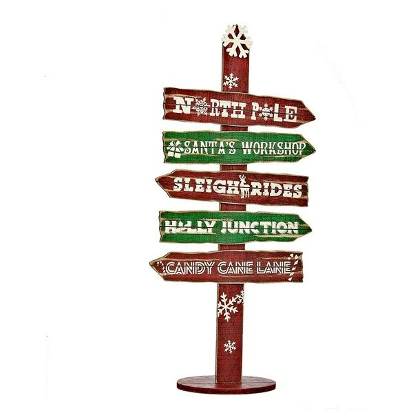 Christmas Arrow Signs.Pin On My Polyvore Finds