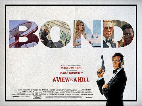 A View To A Kill Quad James Bond Bond Book Fandoms
