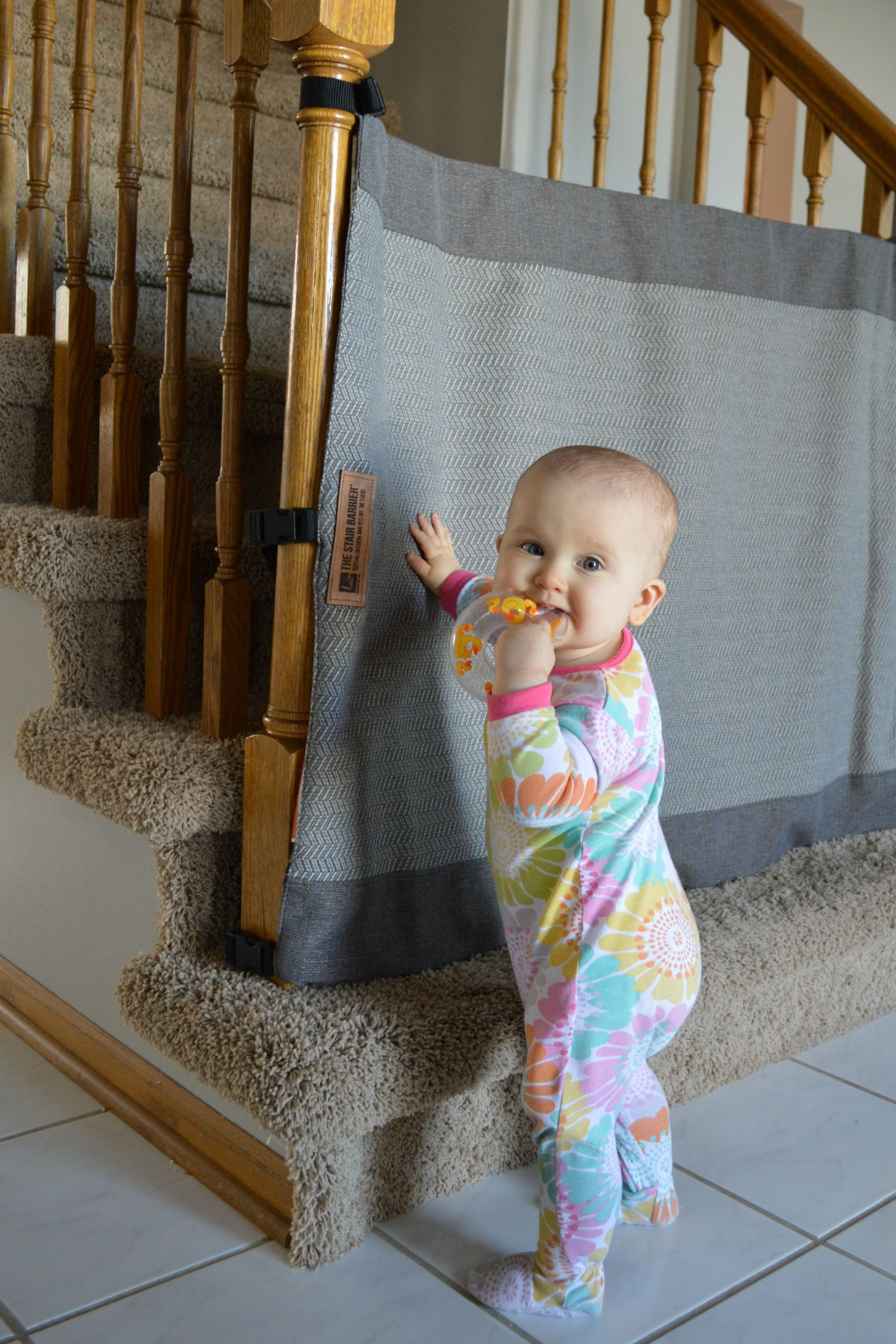 A stylish new way for baby proofing stairs Baby proofing