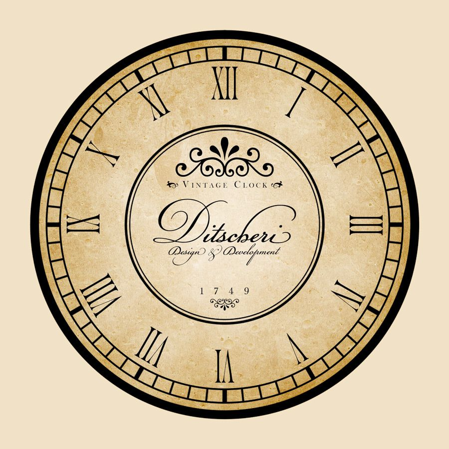 Clock Designs | ... clock\'s background. And that\'s what we\'re going ...