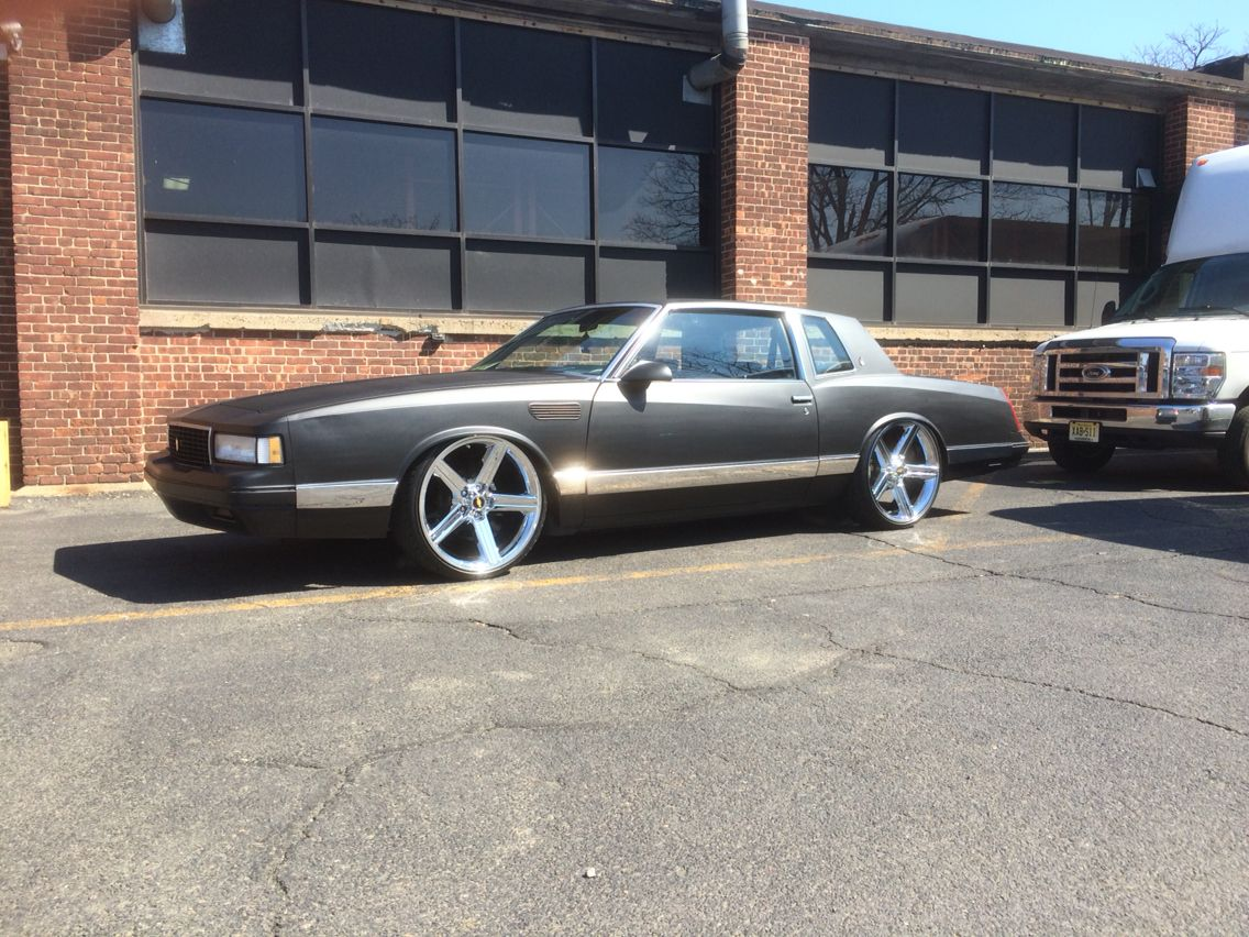 1988 Monte Carlo Ls Bagged Classic Cars Muscle Custom Cars