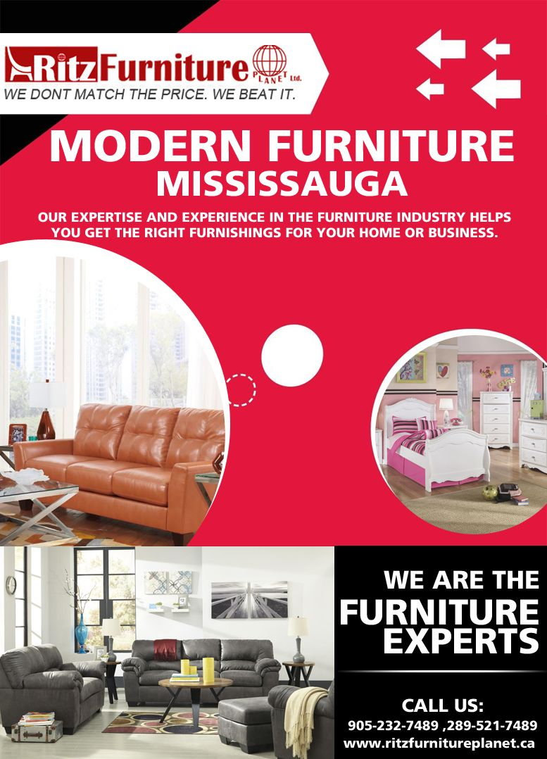 If you want to purchase modern furniture in mississauga then visit our showroom 5200 dixie road