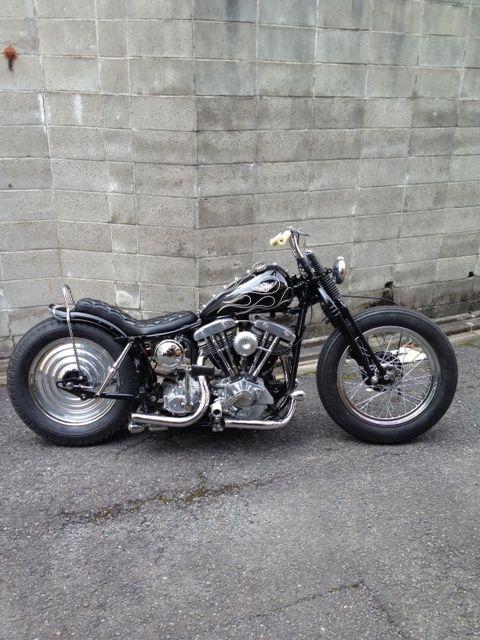 ϟ Hell Kustom ϟ: Harley Davidson Shovelhead 1977 By Luck Motorcycle...