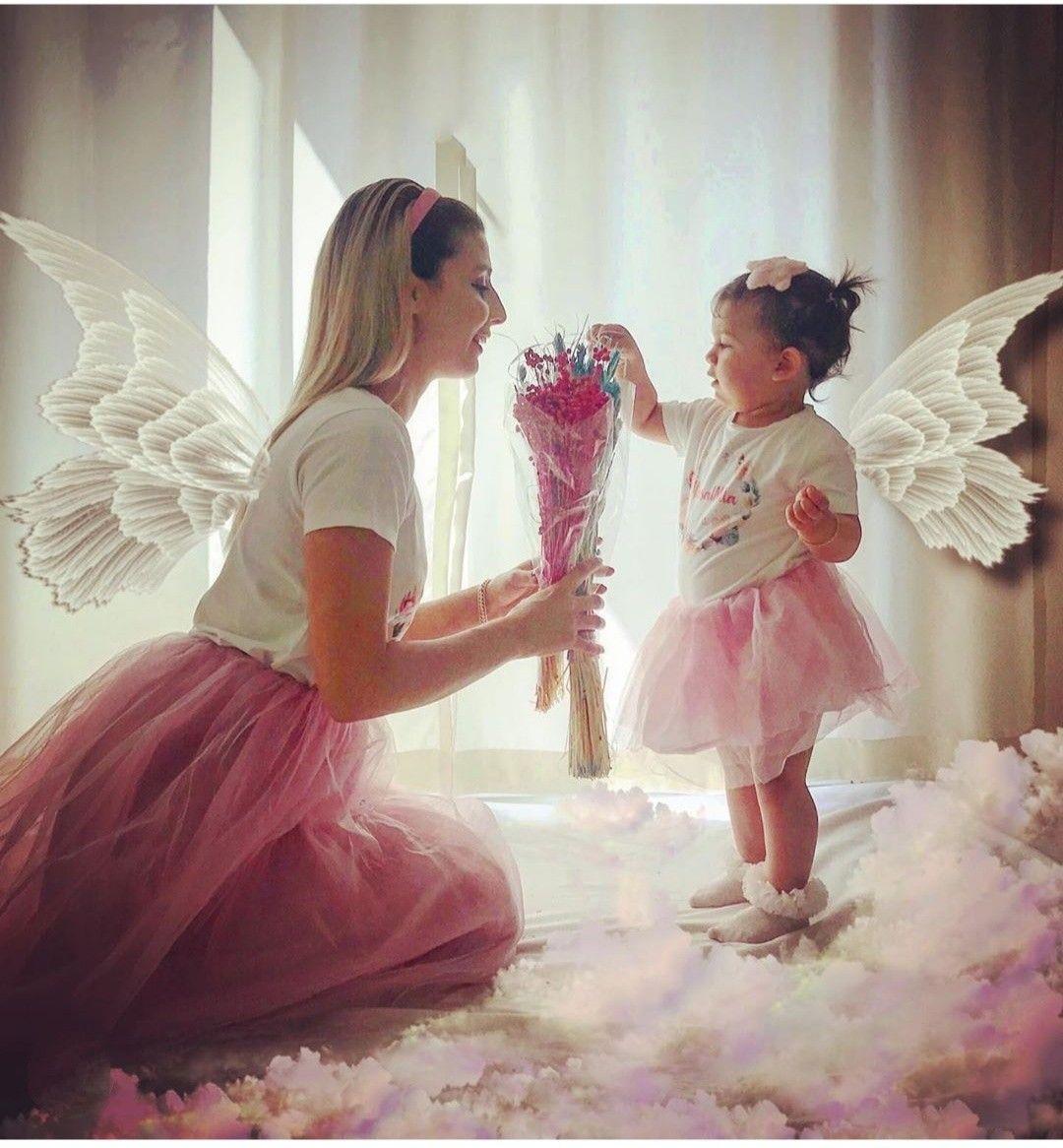 #angel #foto #motherchild #motherdaughter #combinations #annekizkombin