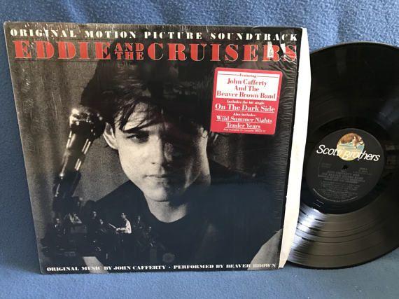 RARE Vintage Eddie And The Cruisers  Original by sweetleafvinyl